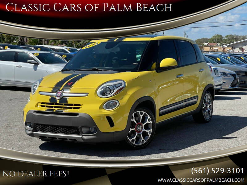 2014 FIAT 500L for sale at Classic Cars of Palm Beach in Jupiter FL