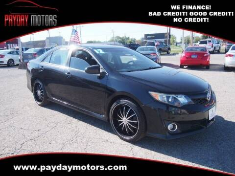 2012 Toyota Camry for sale at Payday Motors in Wichita KS