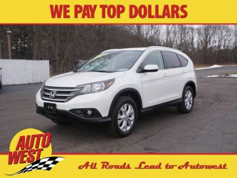 2014 Honda CR-V for sale at Autowest Allegan in Allegan MI