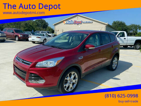 2013 Ford Escape for sale at The Auto Depot in Mount Morris MI
