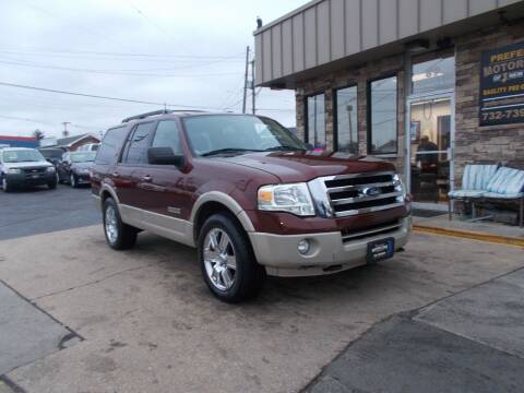2007 Ford Expedition for sale at Preferred Motor Cars of New Jersey in Keyport NJ
