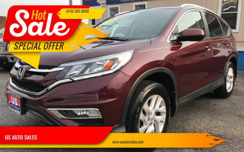 2016 Honda CR-V for sale at US AUTO SALES in Baltimore MD