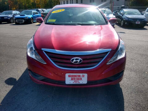 2014 Hyundai Sonata for sale at Washington Street Auto Sales in Canton MA