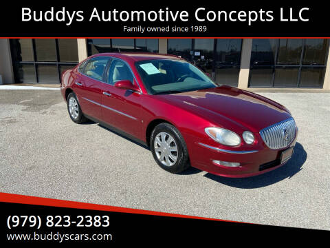 2008 Buick LaCrosse for sale at Buddys Automotive Concepts LLC in Bryan TX