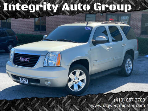 2013 GMC Yukon for sale at Integrity Auto Group in Westminister MD