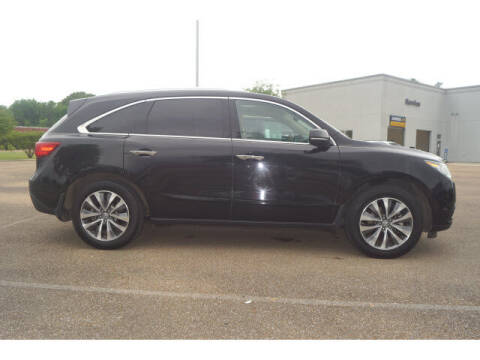2014 Acura MDX for sale at BLACKBURN MOTOR CO in Vicksburg MS