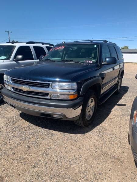 2004 Chevrolet Tahoe for sale at Poor Boyz Auto Sales in Kingman AZ