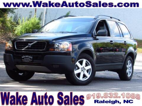 2006 Volvo XC90 for sale at Wake Auto Sales Inc in Raleigh NC