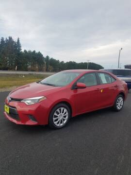 2015 Toyota Corolla for sale at Jeff's Sales & Service in Presque Isle ME