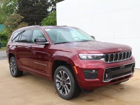 2021 Jeep Grand Cherokee L for sale at DEUR-SPEET MOTORS in Fremont MI