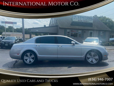 2007 Bentley Continental for sale at International Motor Co. in Saint Charles MO