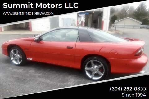 1997 Chevrolet Camaro for sale at Summit Motors LLC in Morgantown WV