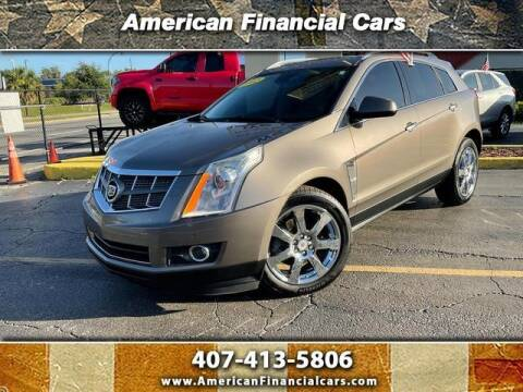 2012 Cadillac SRX for sale at American Financial Cars in Orlando FL