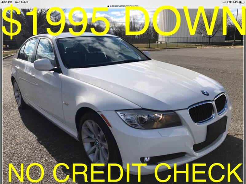 2011 BMW 3 Series for sale at Cooks Motors in Westampton NJ