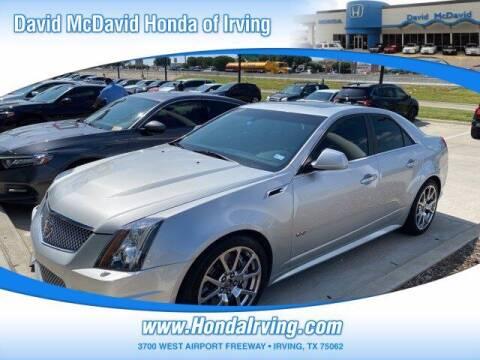 2014 Cadillac CTS-V for sale at DAVID McDAVID HONDA OF IRVING in Irving TX