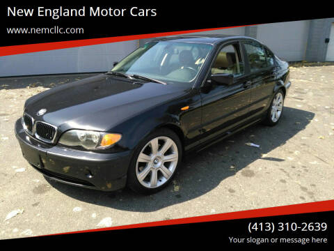 2003 BMW 3 Series for sale at New England Motor Cars in Springfield MA