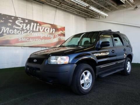 2003 Ford Escape for sale at SULLIVAN MOTOR COMPANY INC. in Mesa AZ