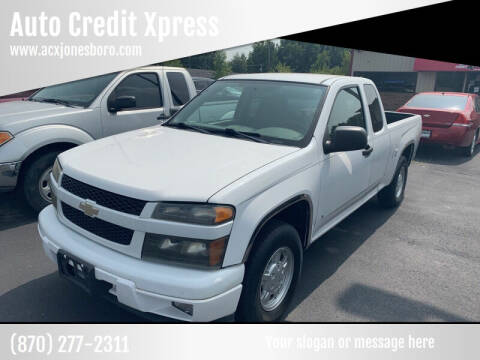 2008 Chevrolet Colorado for sale at Auto Credit Xpress - Jonesboro in Jonesboro AR