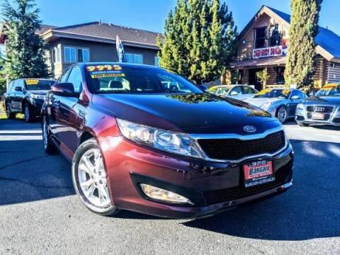 2012 Kia Optima for sale at Bargain Auto Sales LLC in Garden City ID