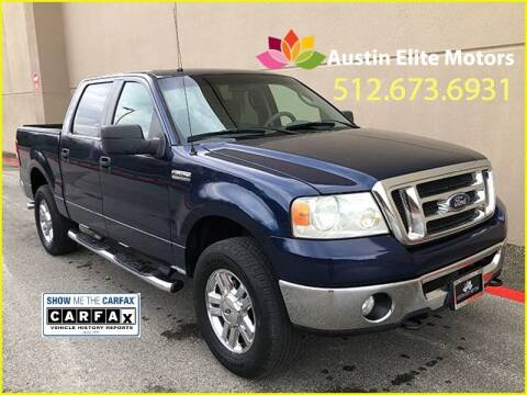 2008 Ford F-150 for sale at Austin Elite Motors in Austin TX