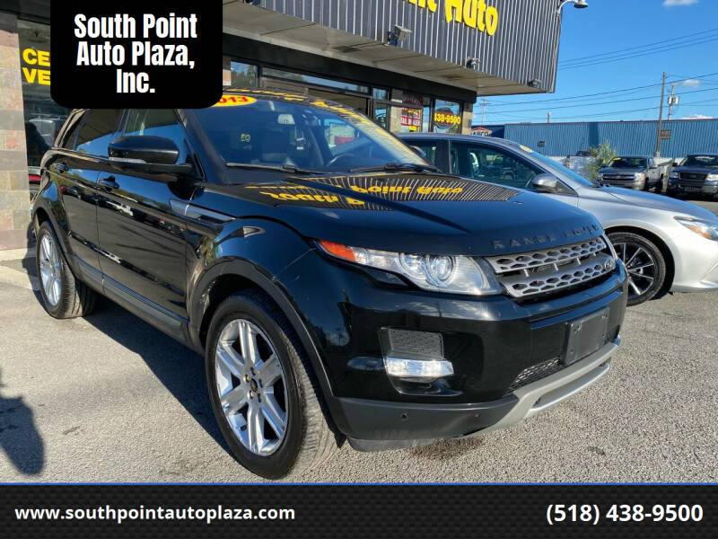 2013 Land Rover Range Rover Evoque for sale at South Point Auto Plaza, Inc. in Albany NY