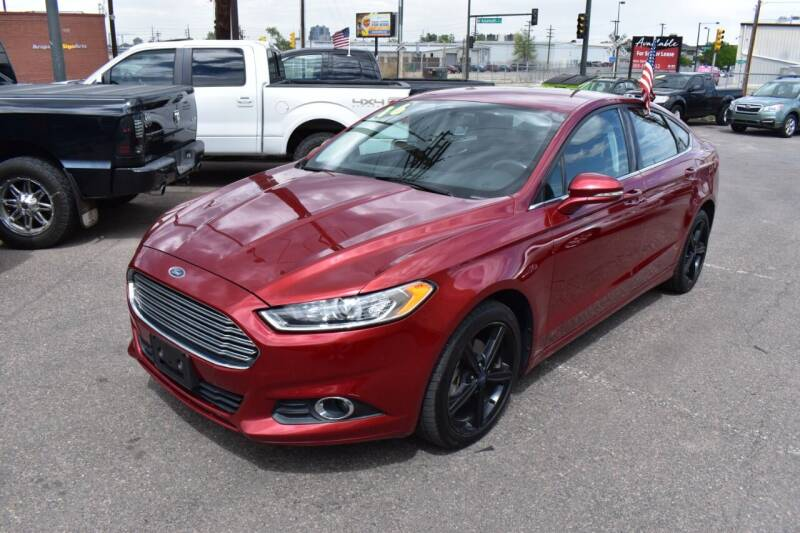 2016 Ford Fusion for sale at Good Deal Auto Sales LLC in Denver CO
