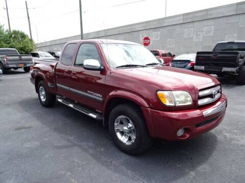 2004 Toyota Tundra for sale at DONNY MILLS AUTO SALES in Largo FL