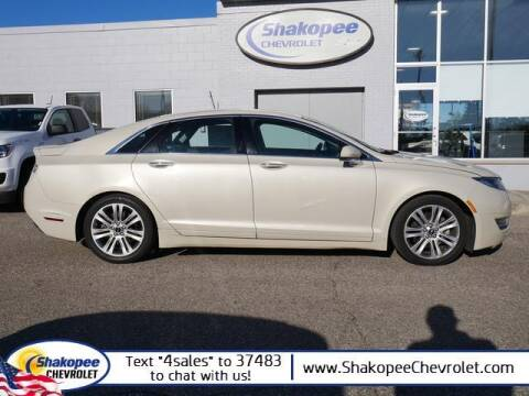 2015 Lincoln MKZ for sale at SHAKOPEE CHEVROLET in Shakopee MN