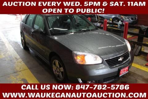 2006 Chevrolet Malibu Maxx for sale at Waukegan Auto Auction in Waukegan IL