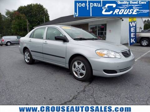 2005 Toyota Corolla for sale at Joe and Paul Crouse Inc. in Columbia PA