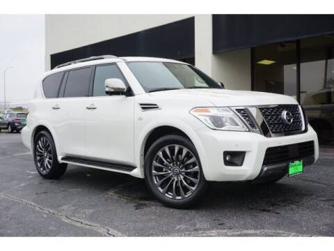 2020 Nissan Armada for sale at Douglass Automotive Group - Douglas Volkswagen in Bryan TX