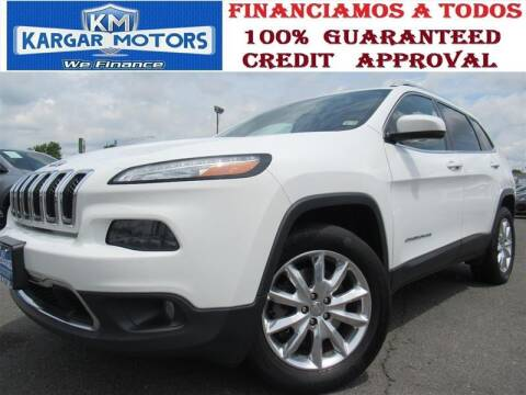 2016 Jeep Cherokee for sale at Kargar Motors of Manassas in Manassas VA