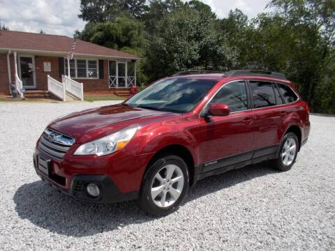 2013 Subaru Outback for sale at Carolina Auto Connection & Motorsports in Spartanburg SC