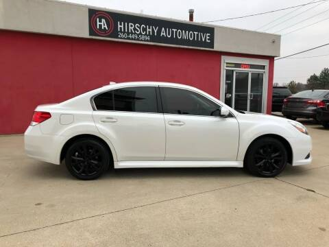 2014 Subaru Legacy for sale at Hirschy Automotive in Fort Wayne IN