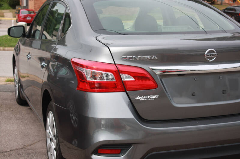 2019 Nissan Sentra for sale at Auto Villa in Danville VA
