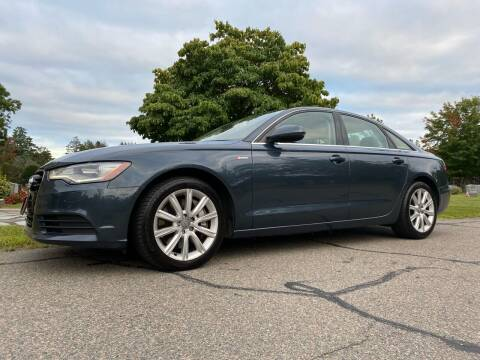 2013 Audi A6 for sale at Reynolds Auto Sales in Wakefield MA