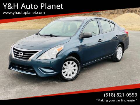 2015 Nissan Versa for sale at Y&H Auto Planet in West Sand Lake NY
