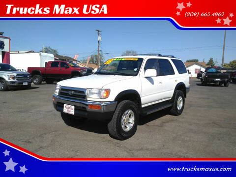 1998 Toyota 4Runner for sale at Trucks Max USA in Manteca CA