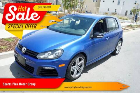 2012 Volkswagen Golf R for sale at Sports Plus Motor Group LLC in Sunnyvale CA