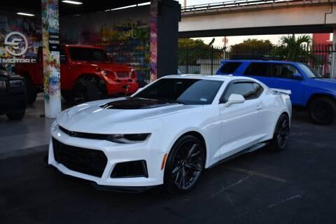 2018 Chevrolet Camaro for sale at STS Automotive - Miami, FL in Miami FL