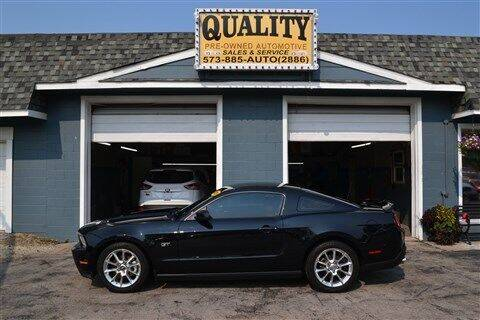 2010 Ford Mustang for sale at Quality Pre-Owned Automotive in Cuba MO