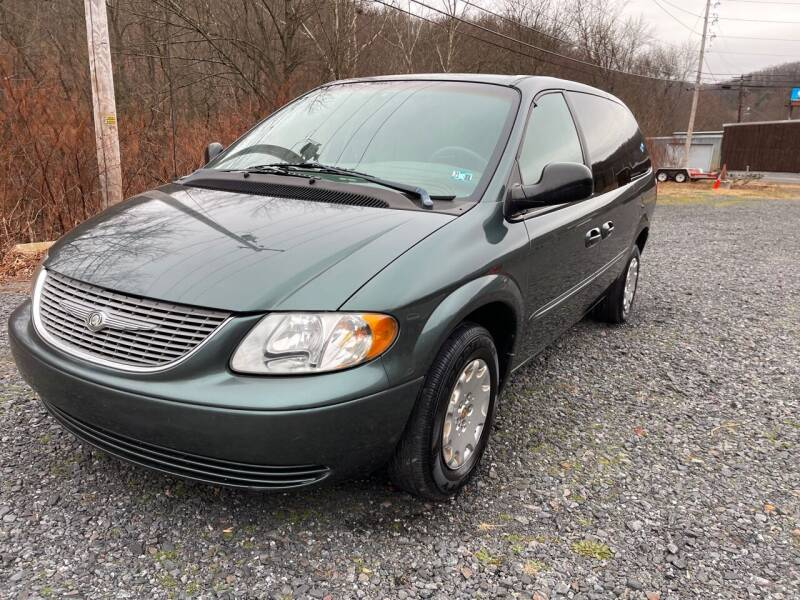 2002 Chrysler Town and Country for sale at JM Auto Sales in Shenandoah PA