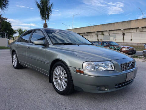2006 Volvo S80 for sale at Florida Cool Cars in Fort Lauderdale FL