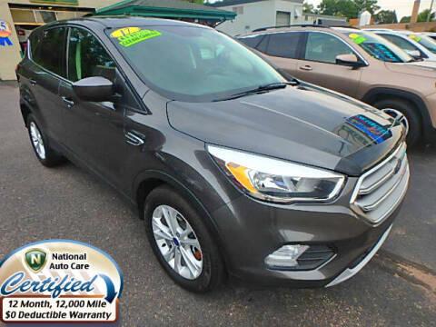 2017 Ford Escape for sale at Jon's Auto in Marquette MI
