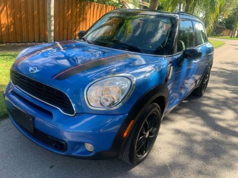 2012 MINI Cooper Countryman for sale at FINANCIAL CLAIMS & SERVICING INC in Hollywood FL