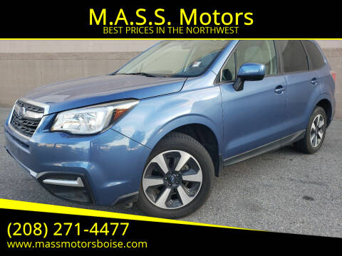 2017 Subaru Forester for sale at M.A.S.S. Motors in Boise ID