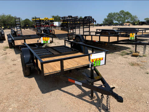 2021 P & C  - UTILITY 5' X 8'  - IN & for sale at LJD Sales in Lampasas TX
