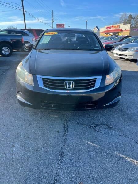 2008 Honda Accord for sale at SRI Auto Brokers Inc. in Rome GA