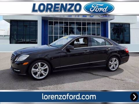 2013 Mercedes-Benz E-Class for sale at Lorenzo Ford in Homestead FL