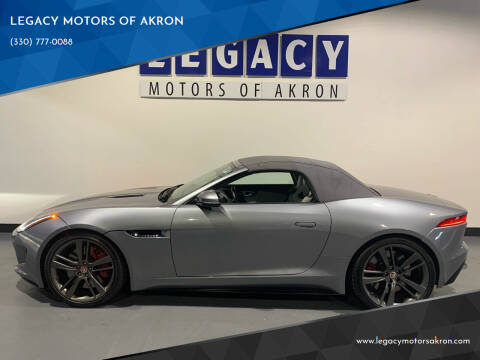 2014 Jaguar F-TYPE for sale at LEGACY MOTORS OF AKRON in Akron OH